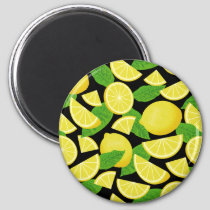 Lemon Background Magnet