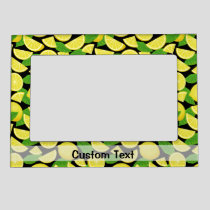 Lemon Background Magnetic Frame