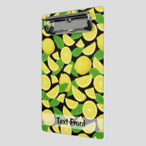 Lemon Background Mini Clipboard