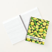 Lemon Background Notebook