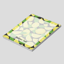 Lemon Background Notepad