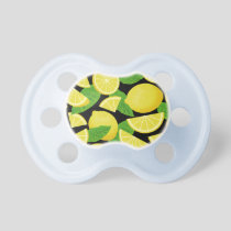 Lemon Background Pacifier