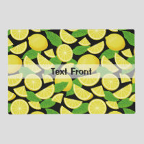 Lemon Background Placemat