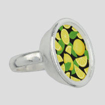 Lemon Background Ring