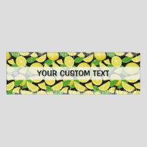 Lemon Background Ruler