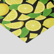 Lemon Background Tissue Paper
