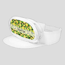 Lemon Background Visor