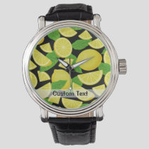 Lemon Background Watch