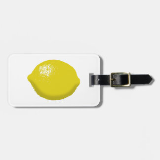 Lemon: Bag Tag