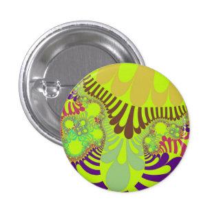 Lemon Berry Mod Small Round Button