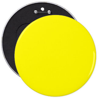 Lemon Best Complementary Color 6 Inch Round Button