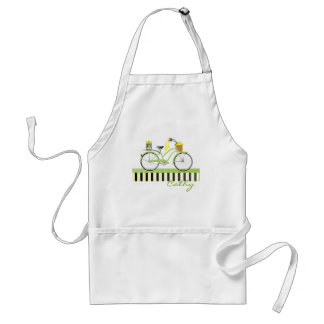 Lemon Bicycle Adult Apron