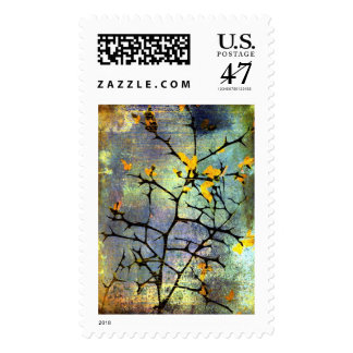 Lemon Blossom Branches Stamps