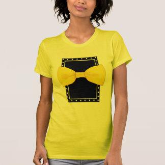 Lemon Bowtie Ladies T-shirt