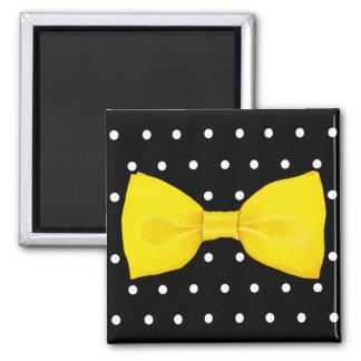Lemon Bowtie Magnet