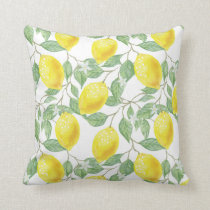 Lemon Bright | Throw Pillow