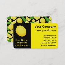 Lemon Business Card