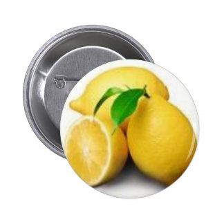 Lemons buttons pins zazzle for Lemon button