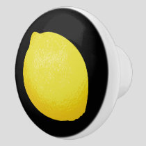 Lemon Ceramic Knob