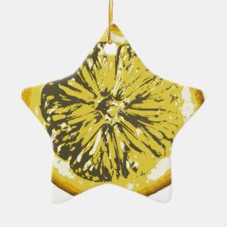 Lemon Ceramic Ornament