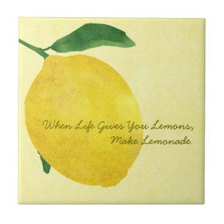 Lemon Ceramic Tile