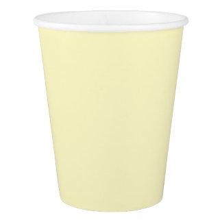 Lemon Chiffon Paper Cup