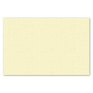 """Lemon Chiffon Solid Color 10"""" X 15"""" Tissue Paper"""