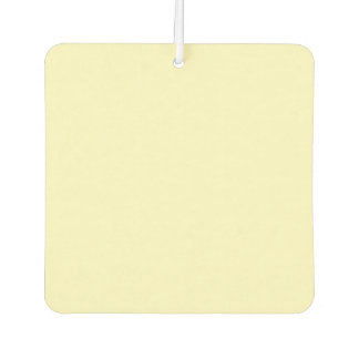 Lemon Chiffon Solid Color Air Freshener