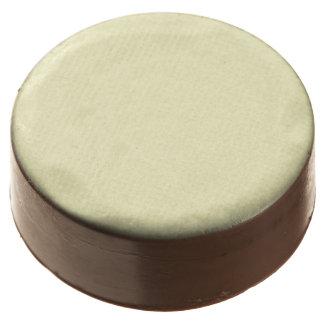Lemon Chiffon Solid Color Chocolate Covered Oreo