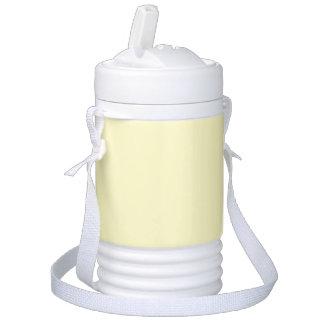Lemon Chiffon Solid Color Cooler