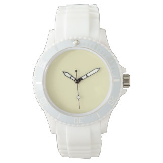 Lemon Chiffon Solid Color Watch