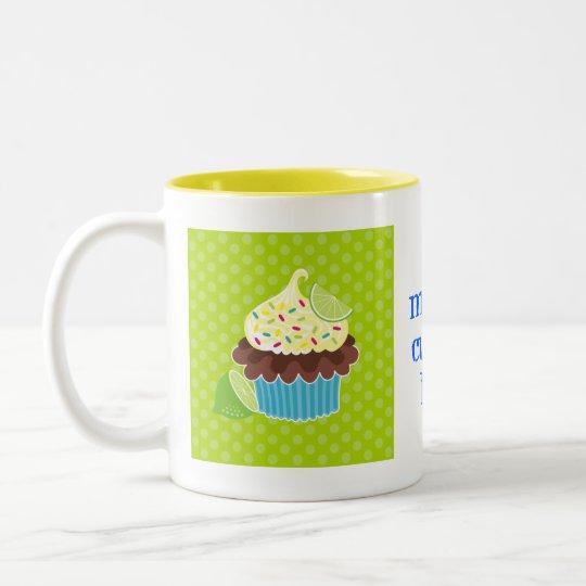 Lemon & Chocolate Cupcake Mug
