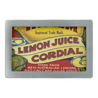 Lemon commercial rectangular belt buckle