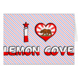 Lemon Cove, CA Greeting Card
