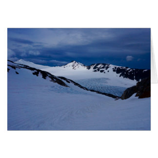 Lemon Creek Glacier at Twilight Card