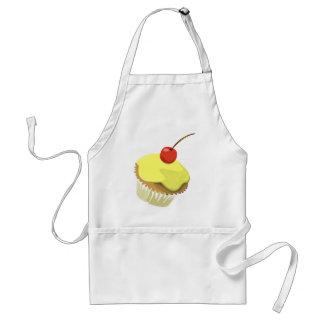 Lemon cupcake apron