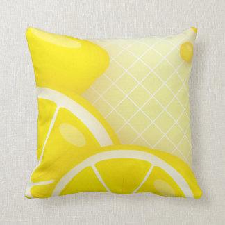 Lemon Design Throw Pillow