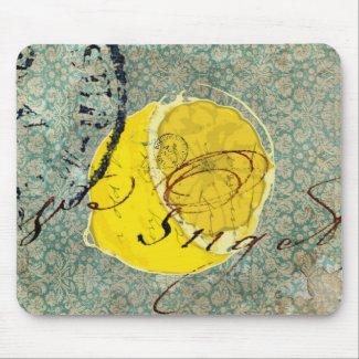 Lemon Digital Art mousepad
