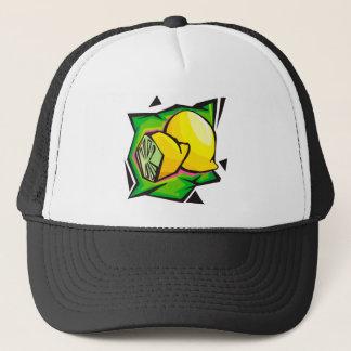 Lemon Disco Trucker Hat