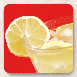 Lemon drink design coaster
