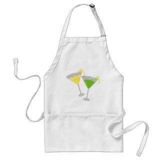 Lemon Drop and Green Apple Martini Adult Apron
