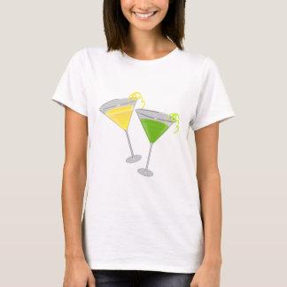 Lemon Drop and Green Apple Martini T-Shirt