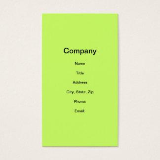 Lemon Drop Cocktail Business Card