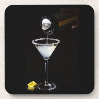 Lemon Drop Martini Coasters