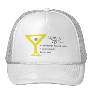 Lemon Drop Martini Hat