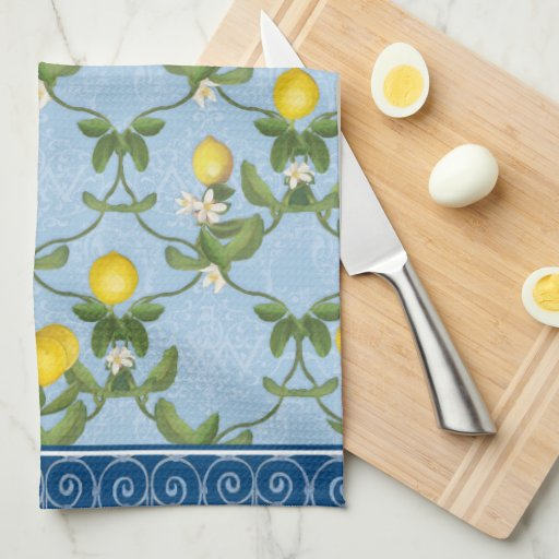 Lemon French Country Kitchen Towel