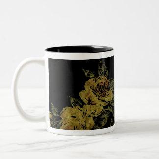 Lemon Flowers Mug