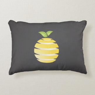 Lemon fruit decorative pillow