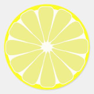 Lemon Fruit Stickers