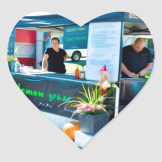 Lemon Grass Grill Bahn Mi Chicken Heart Sticker
